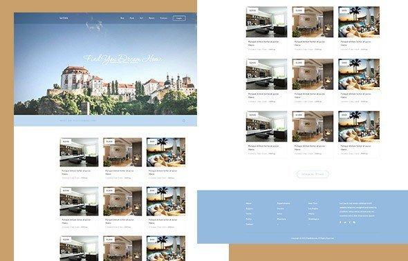 La Casa  - قوالب HTML مجانية
