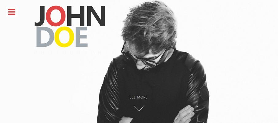 John Doe - قوالب HTML مجانية