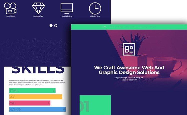 Boxus - قوالب HTML مجانية