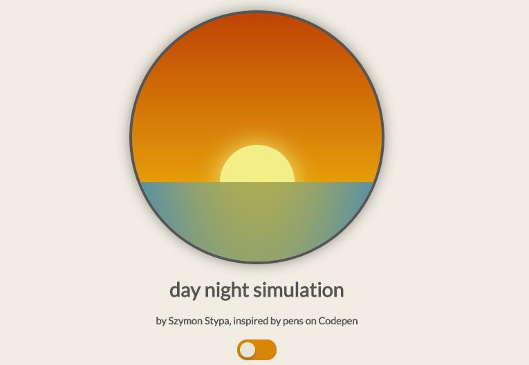 Day Night simulation