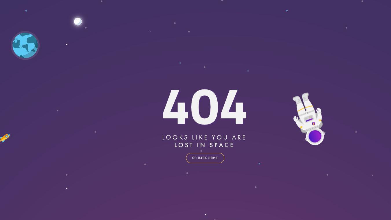 404 - Lost In Space